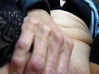 Cum On Her Swollen Clit
