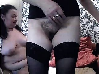 Two Russian 48yo Whores On Webcam Sc.3