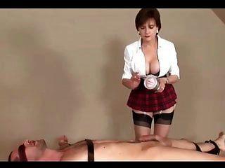 Sexy Milf In Tartan Miniskirt