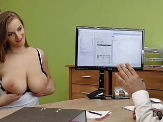 Loan4k. Suzie Sun Takes Blouse Off And Gives Titjob To...