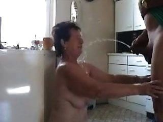 Mature Wife Pissed On