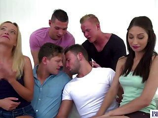 Bisexual Orgy With Victoria Pure And Nicole Sweet