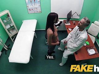 Fake Hospital Dirty Doctor Stretches Fit Babes Pussy