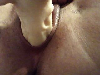 Close Up Swollen Pussy Squirting