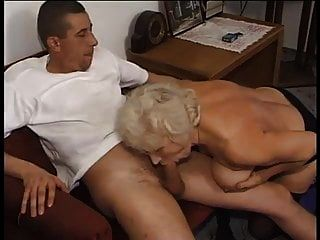 Lucky Guy Fuck Old Granny