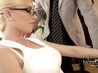Nightclub - German Blond Office Milf