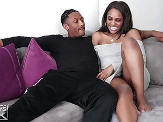 Black Love! College Black Couple Have Hot Big Booty Sex