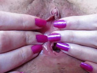Wet Gaping Pussy Blonde