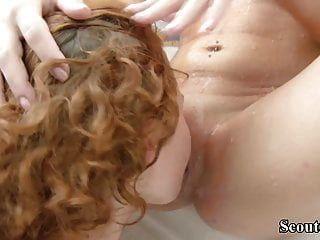 Petite 18yr Old Redhead Teens In First Time Lesbian In Bath