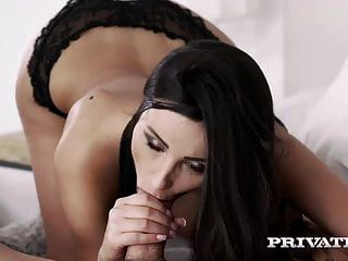 Private.com Busty Brunette  Fucks While Being Watched