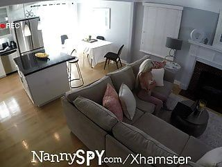 Nannyspy Elsa Jean Unknowingly Cam Flirting With Boss