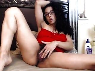 Hairy Girl Playing With Her Pussy