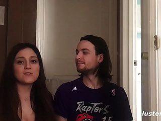 Luck Guy Bangs His Beautiful Buxom Girlfriend