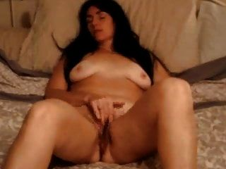 Milf With Big Tits Rubs Her Pussy To Orgasm