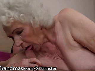 Lustygrandmas Sensual Granny Uses Hairy Box To Ride