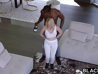 Blacked Teen Blonde With Massive Ass Is Black Cock Only