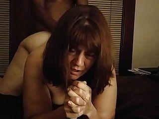 Amateur Submissive Slut Takes Bbc For Her Dom