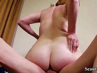 Hairy German Milf Seduce To Fuck At Work