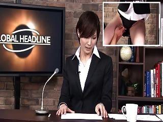 uncensored japanese newsreader